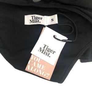 Tiger Mist Other - Tiger Mist Black Sheer Tank Bodysuit